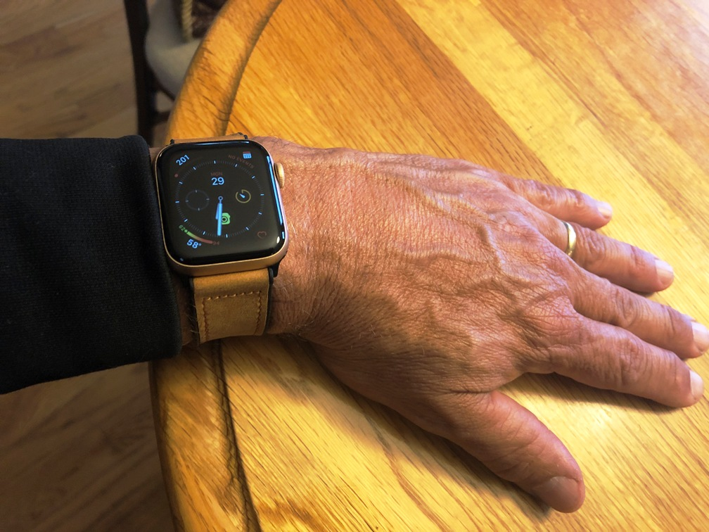 Leather iWatch Band